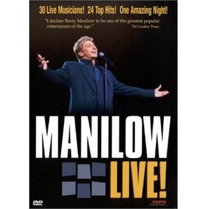 [DVD] BARRY MANILOW - Live!